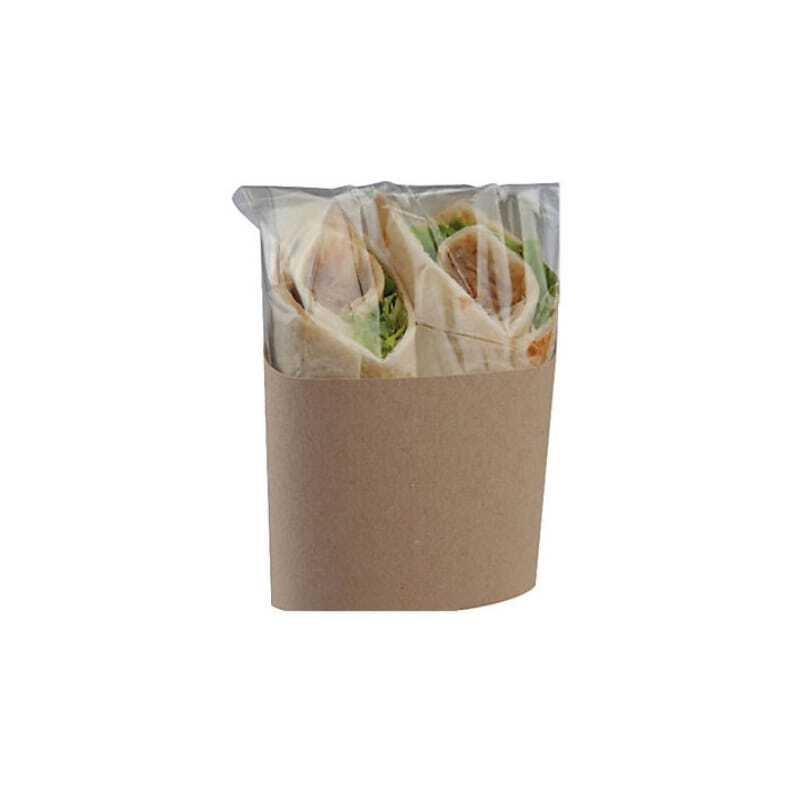 Étui Wrap Double avec Protection - Lot de 500 FourniResto - 1