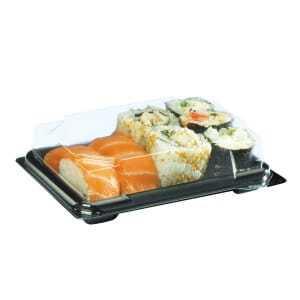 Boîte à Sushis 6-10 Pièces - Lot de 400 FourniResto - 1