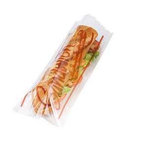 Sac Sandwich Plastique 14x35 cm - Lot de 1000 FourniResto - 1