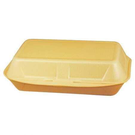 Boîte Coque Sandwich/ Kebab PSE - 240 x 133 mm - Lot de 500 FourniResto - 1