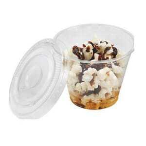 Couvercle pour Coupe à Dessert - 27,5 cl - Lot de 1000 FourniResto - 2