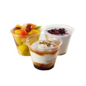 Coupe à Dessert Plastique - 27,5 cl - Lot de 1000 FourniResto - 2