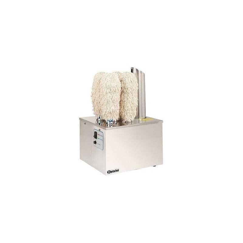 Machine à Essuyer & Polir les Verres Bartscher - 1