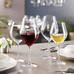 6 Verres à Pied Arom Up 25 CL Chef & Sommelier - 1