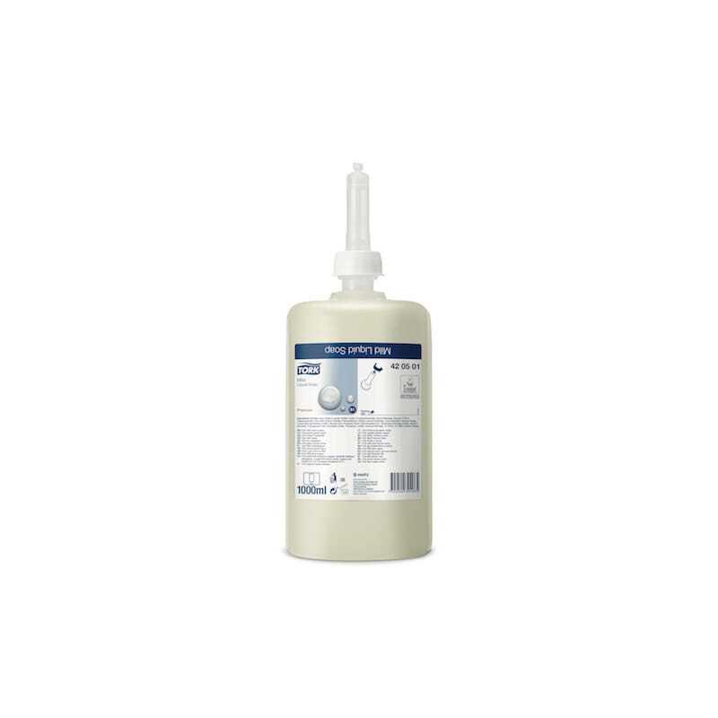 Savon Liquide Doux Premium Crème - Lot de 6 Tork - 1