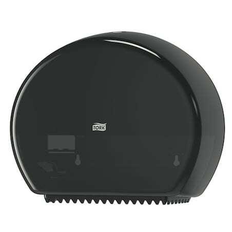Distributeur pour Papier Toilette Mini Jumbo Noir Tork - 1
