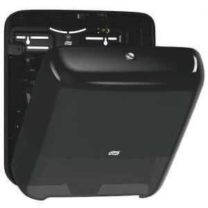 Distributeur pour Essuie-Mains Rouleau Noir - Tork Matic® Tork - 2