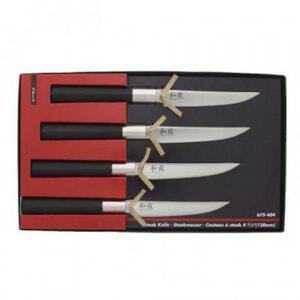 Set de 4 Couteaux à Steak Wasabi Black KAI - 2