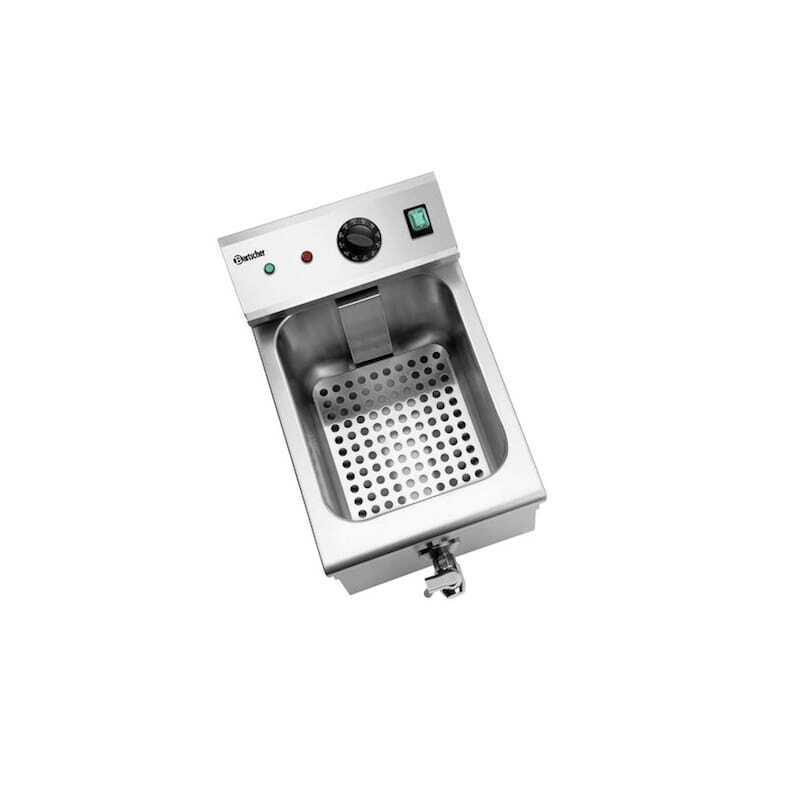 Friteuse Professionnelle Induction - 8 L Bartscher - 1