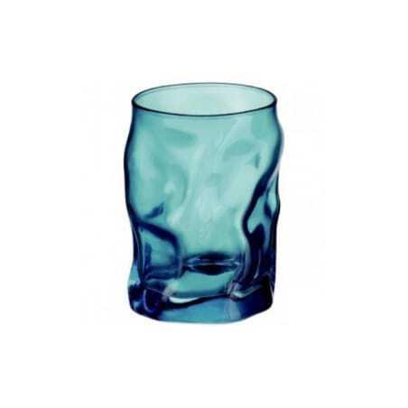 Gobelet Forme Basse Sorgente Bleu Azur 30 cl - Lot de 6 Bormioli Rocco - 1