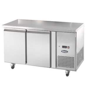 Table Réfrigérée GN 1/1 Négative - 2 Portes Atosa - 1