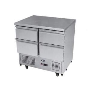 Table réfrigérée Compacte - 4 Tiroirs FourniResto - 1