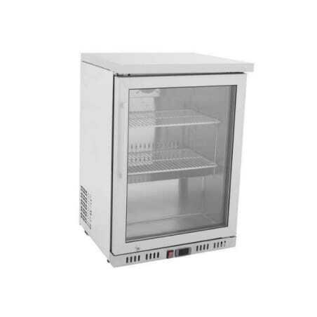 Mini Armoire Réfrigérée 145 L - Positive Vitrée FourniResto - 1