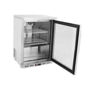 Mini Armoire Réfrigérée 145 L - Positive Vitrée FourniResto - 2