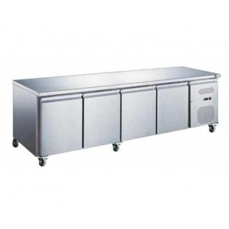 Table Réfrigérée GN 1/1 Positive Profondeur 700 - 4 Portes FourniResto - 1
