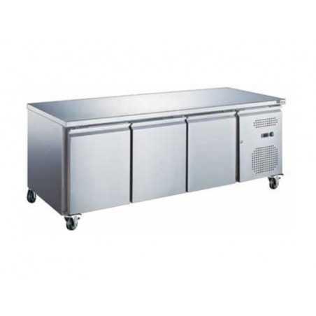Table Réfrigérée GN 1/1 Positive Profondeur 700 - 3 Portes FourniResto - 1