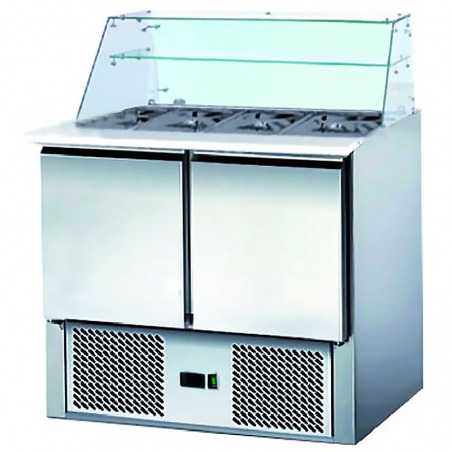 Saladette Réfrigérée 2 Portes - 240 L FourniResto - 1