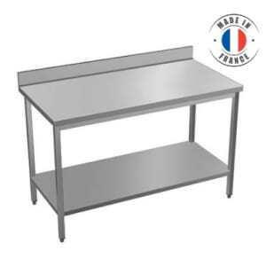 Table à Dosseret - Etagère Basse Sur Mesure 2201 à 2400 mm SOFINOR - 1