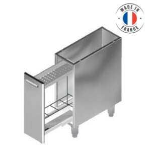 Meuble Bas Sans Dessus - Range Bouteilles SOFINOR - 1