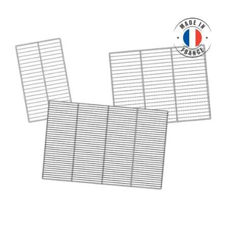 Grilles Inox 600 x 400 Mm - Lot de 4 SOFINOR - 1