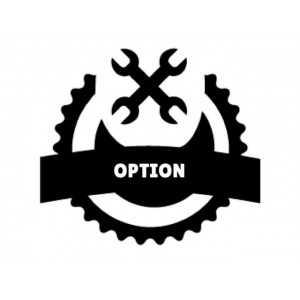 Option Porte Inversée pour Four Mixte FLRDT110E Inoxtrend - 1