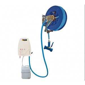 Centrale de Désinfection Carénée et Enrouleur Automatique ABS 15 Mètres SOFINOR - 1