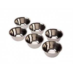 6 Bols Inox - 12 cm Lacor - 1