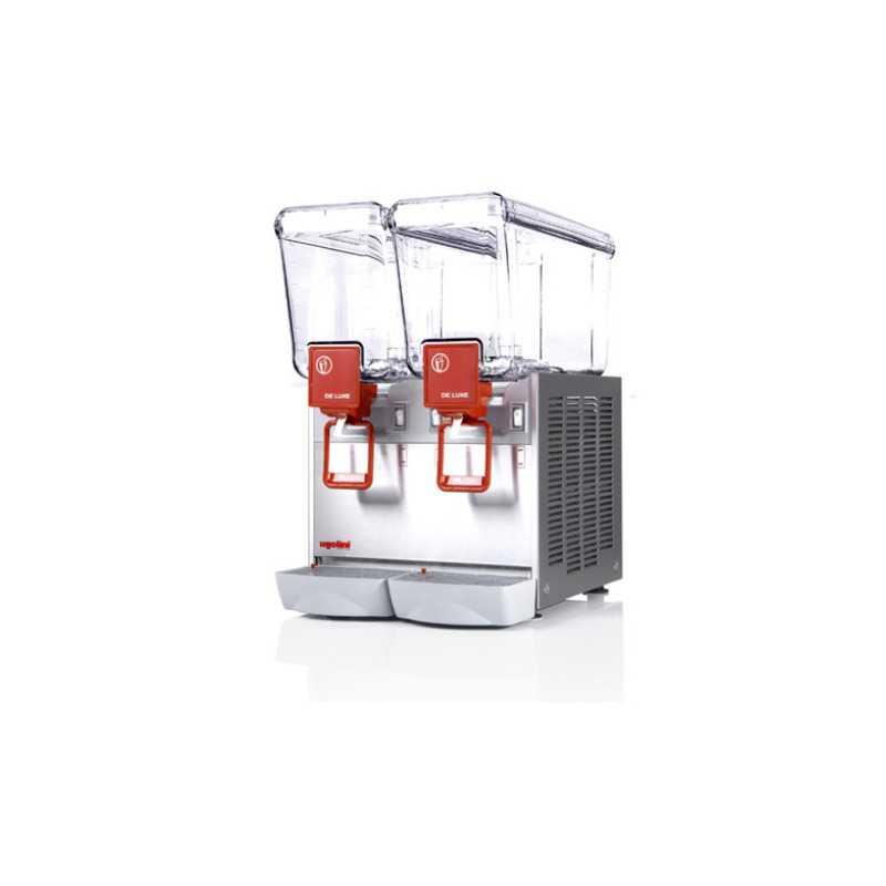 Distributeur de Boissons Réfrigérées Arctic Deluxe - 2 x 12 L Ugolini - 1