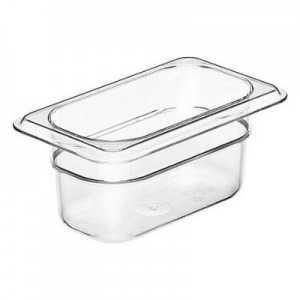 Bacs Gastronormes GN 1/4 Transparents Camview™ - Lot de 6 Cambro - 1