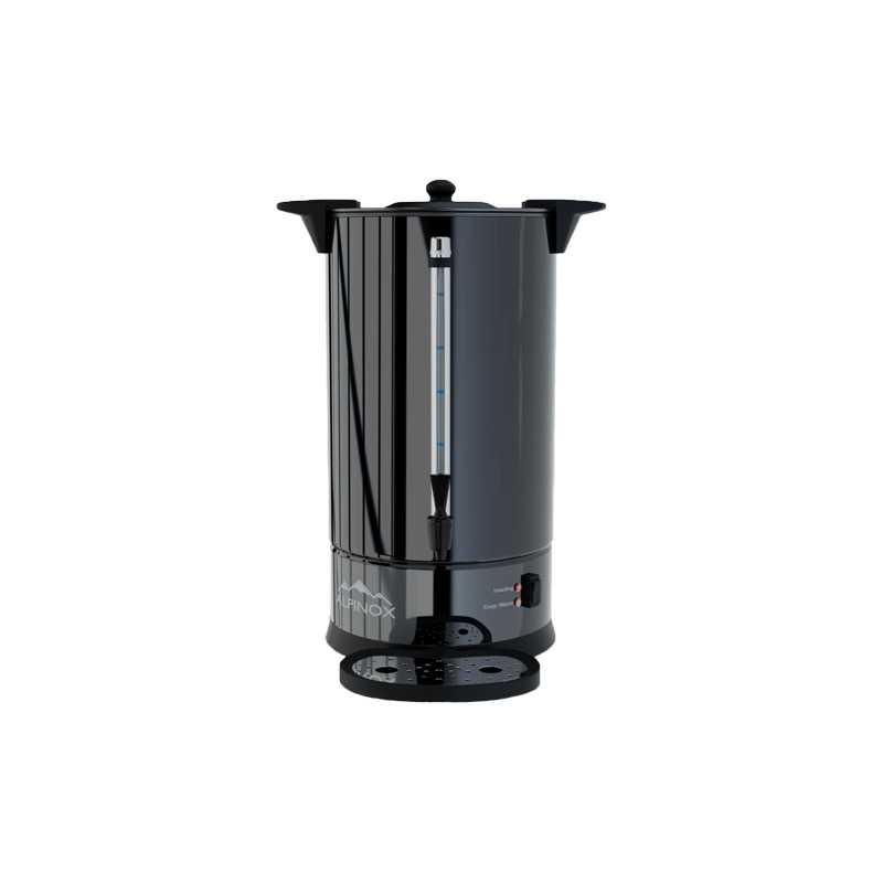 Percolateur à Café 14 L - Black Limited 110 Tasses & Filtre Permanent Alpinox - 1
