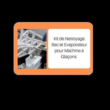 Kit de Nettoyage Bac et Evaporateur pour Machine à Glaçons FourniResto - 1