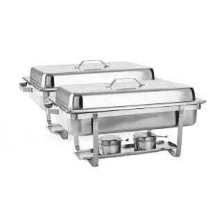 Chafing Dish GN 1/1 - Lot de 2 FourniResto - 1