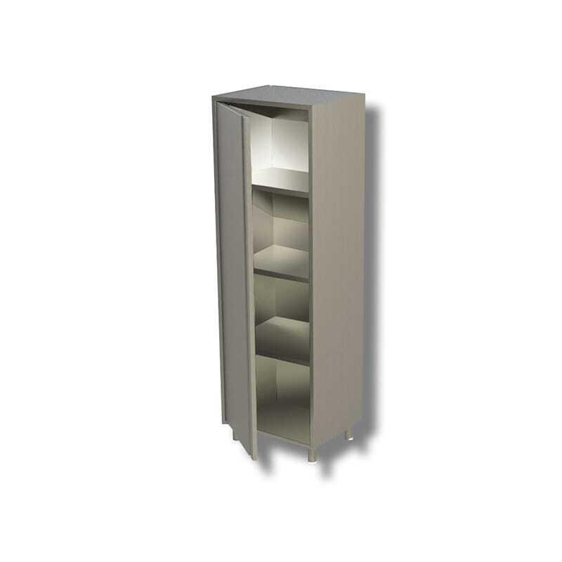 Armoire Inox Haute 1 Porte - Profondeur 600 FourniResto - 1