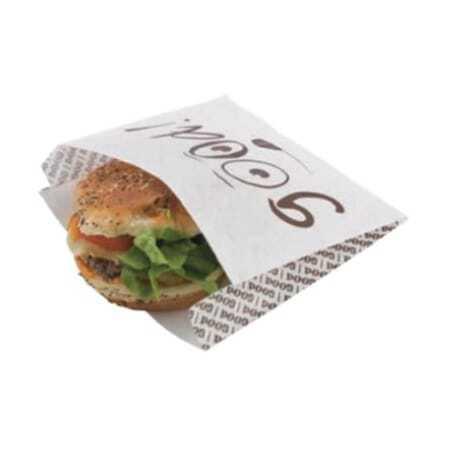 "Sachets Burger ""Good"" - Eco Responsables - Lot de 1000 FourniResto - 1"