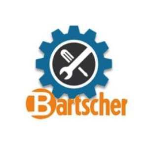 Vitre Gauche pour Vitrine Réfrigérée Bartscher - 1