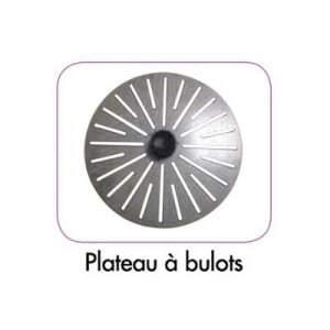 Plateau tout Inox Spécial Bulots pour EP 10 - EP 15 Robot-Coupe - 1