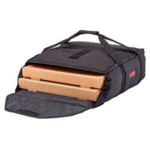 Sac de Livraison Standard 2 ou 3 Pizzas - 420 x 460 mm - Lot de 4 Cambro - 1