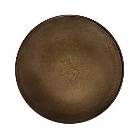 Assiette Plate Bronze Gamme Feeling - Ø 26,5 cm - Lot de 6 Medard de Noblat - 1