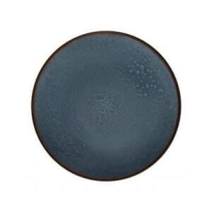 Assiette Plate Indigo Gamme Feeling- Ø 26,5 cm - Lot de 6 Medard de Noblat - 1