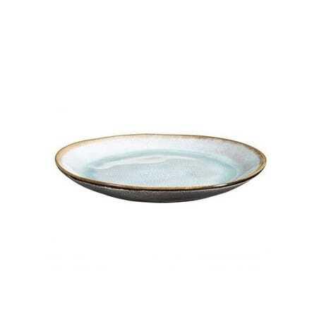 Assiette Plate Gamme Shadow Aqua - Ø 28 cm - Lot de 6 Medard de Noblat - 1