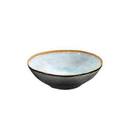 Assiette Creuse Gourmet Gamme Shadow Aqua - Ø 19,5 cm - Lot de 6 Medard de Noblat - 1