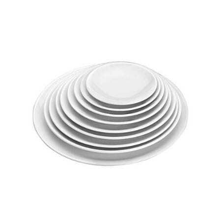 Assiette Ronde en Mélamine - Ø 25,4 x H 2,9 cm Lacor - 1