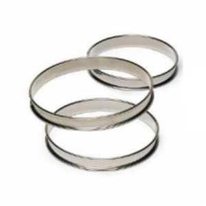 Cercle à Tarte Haut - Ø 90 mm Tellier - 1