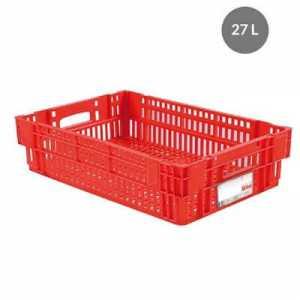 Caisse Liaison Froide 27L Rouge Gilac - 1