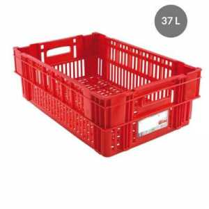 Caisse Liaison Froide 37L Rouge Gilac - 1