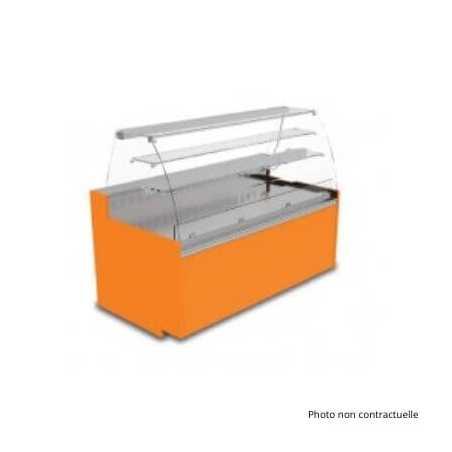 Vitrine Réfrigérée Easy Slim 790 - 4 Bacs - Chêne Clair FourniResto - 1