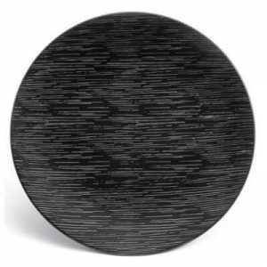 Assiette de Présentation Gamme Magma Noir - Ø 29 cm - Lot de 6 Medard de Noblat - 1