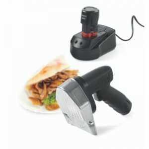 Couteau Kebab Electrique sans Fil HENDI - 2