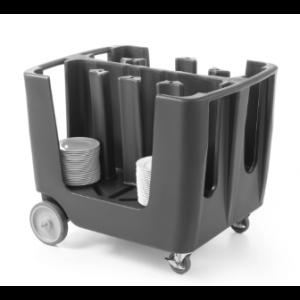 Chariot porte-assiettes Cambro - 1