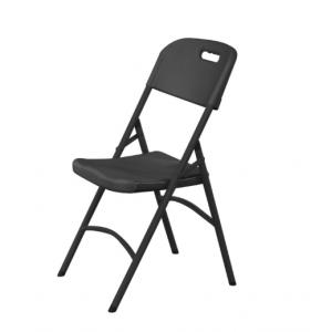 Chaise Pliante - Noire HENDI - 1